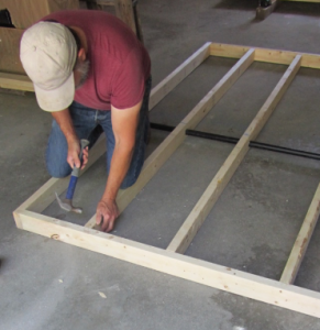 framing the coop